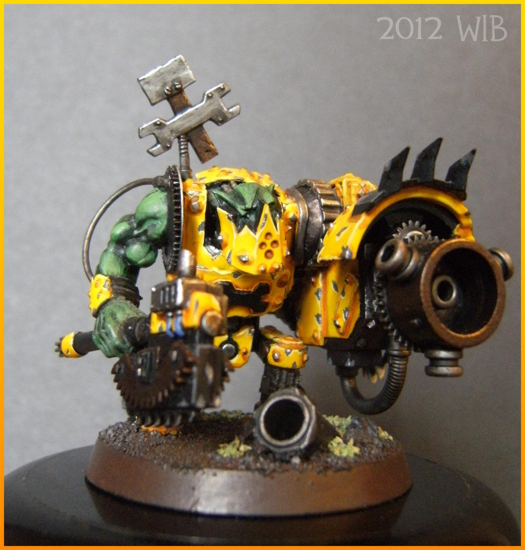 Bad Moons, Big Mek, Conversion, Ork Conversions, Shokk Attack Gun