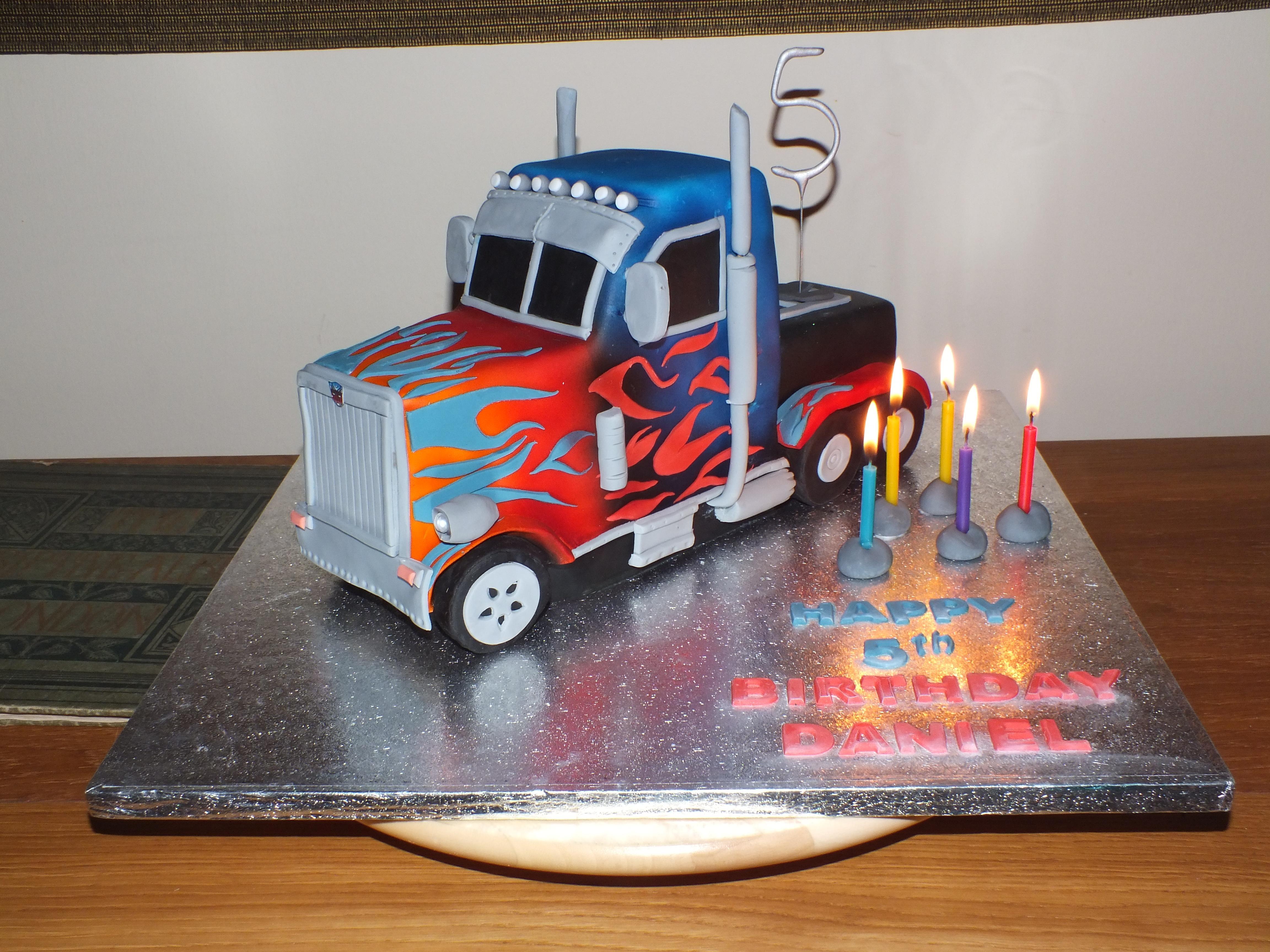 Optimus Cake!