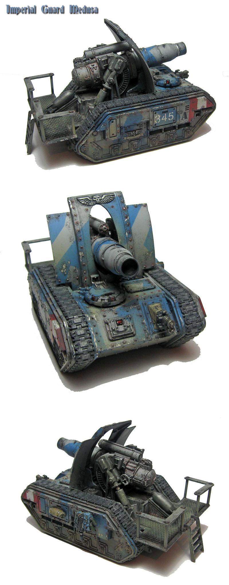 Artillery, Forge World, Imperial Guard, Medusa