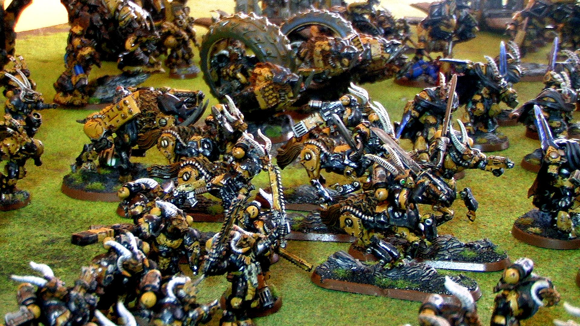 Army, Beastmen, Space, Space Marines, Warhammer 40,000, Wolves