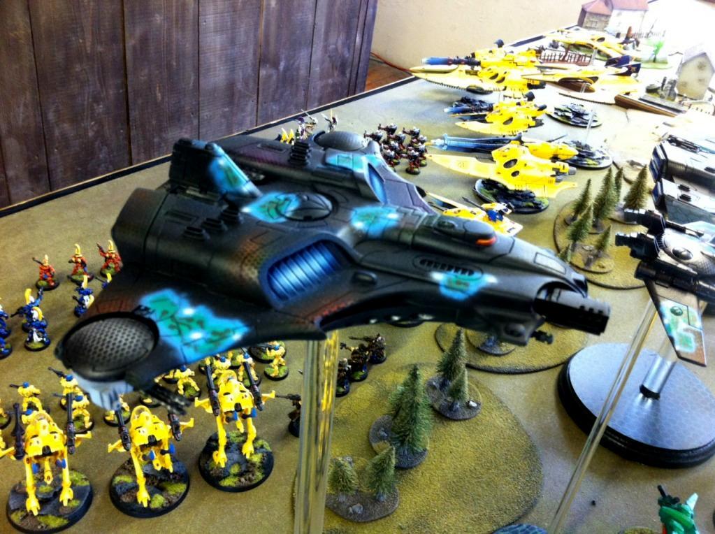 Airbrush, Barracuda, Carbon Fibre, Object Source Lighting, Tau, Tempus Fugitives, Warhammer 40,000