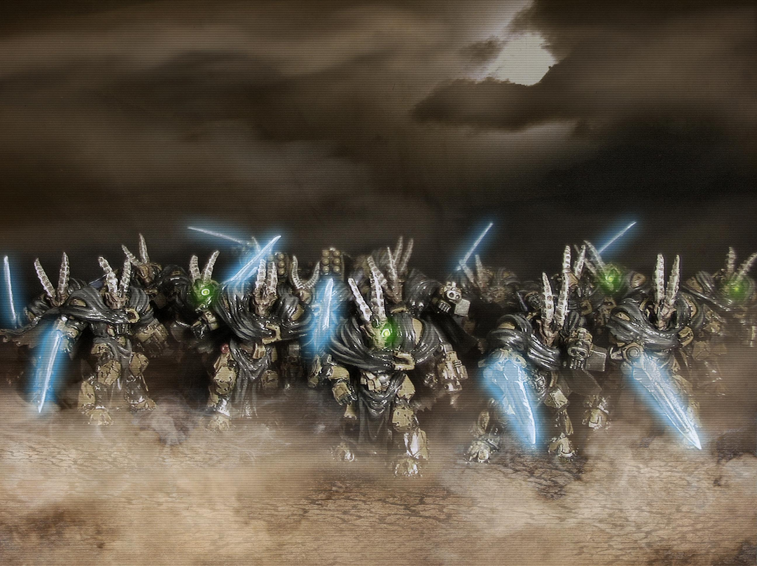 Army, Beast, Beastmen, Blade, Frost, Guards, Metal, Photoshop, Space, Space Marines, Terminator Armor, Warhammer 40,000, Wolf, Wolves
