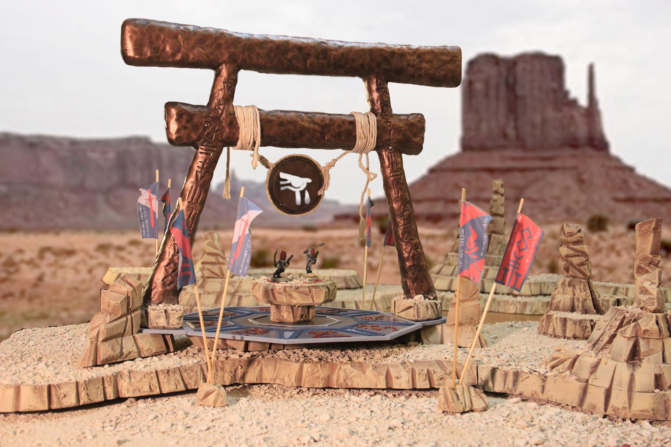 Battle Shrine, Eldar, Tarrai, Terrain