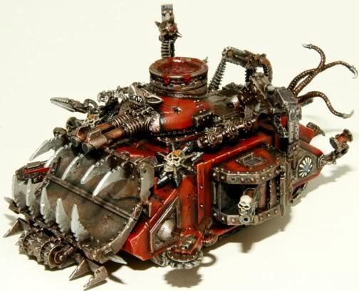 Khorne Tank, Spikes, Chaos Predator