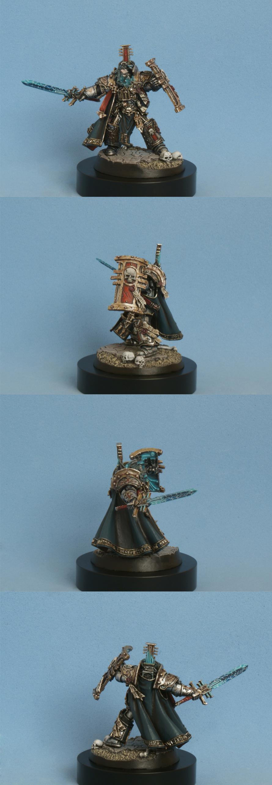 Hector Rex, Inquisition, Inquisitor, Lord, Ordo Malleus, Terminator Armor