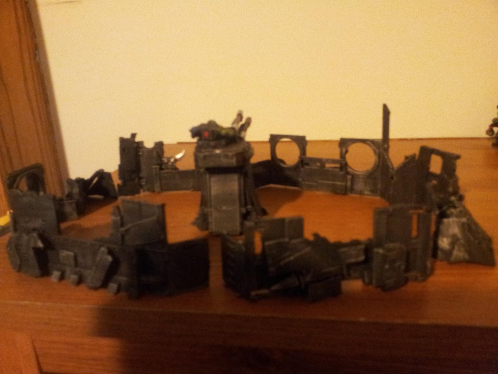 Aegis Defence Line, Orks