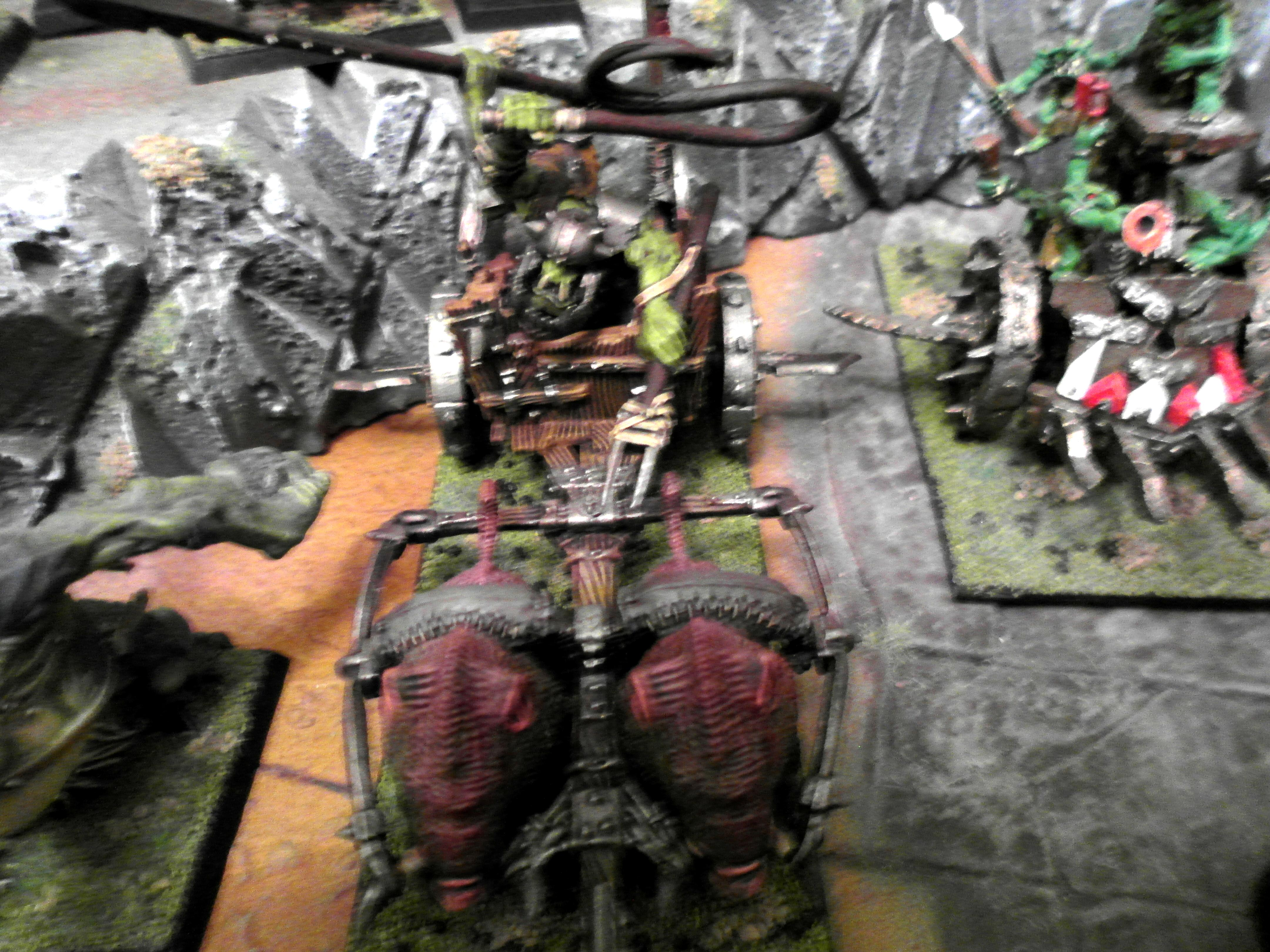 Age Of Sigmar, Boars, Chariot, Orcs And Goblins, Warhammer Fantasy
