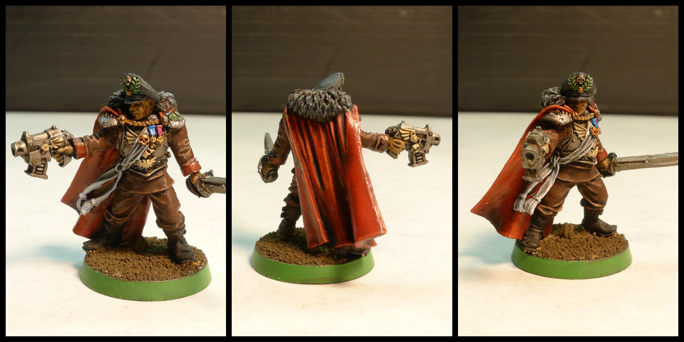 Bolt Pistol, Cloak, Commissar, Games Workshop, Imperial Guard, Lord Commissar