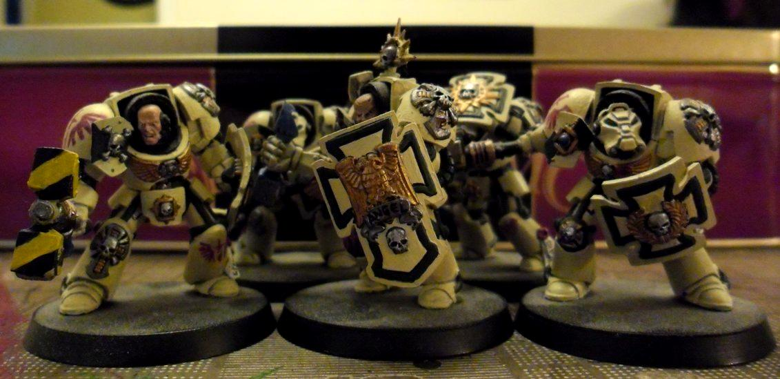 Deathwing, Space Marines, Tda, Terminator Armor, Thunder Hammers