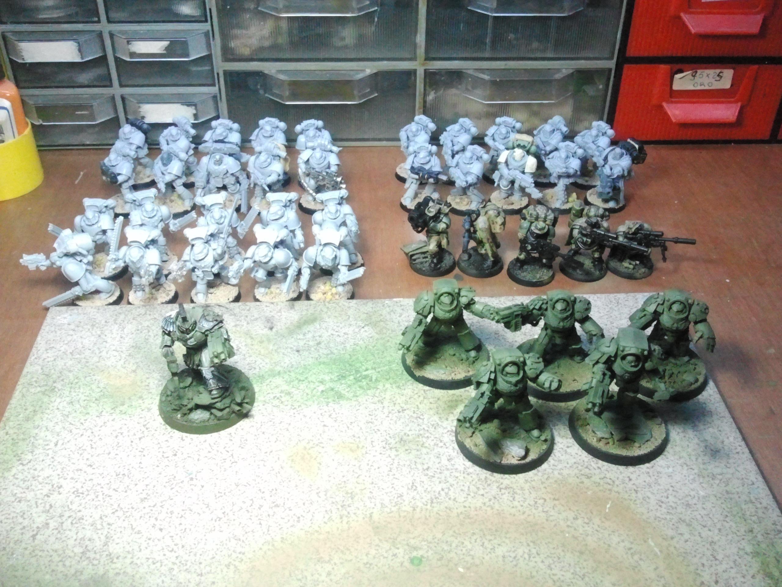 Forge World, Raptors, Space Marines, Swamp