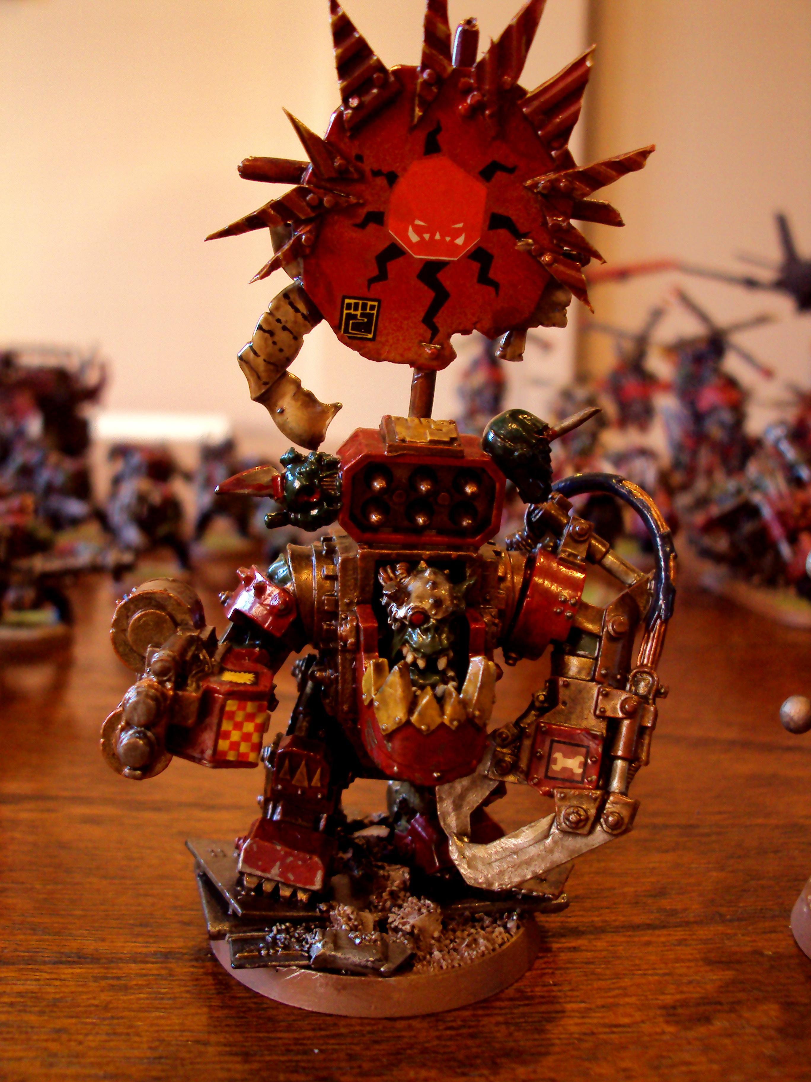 Megga Armour, Orks, Warboss