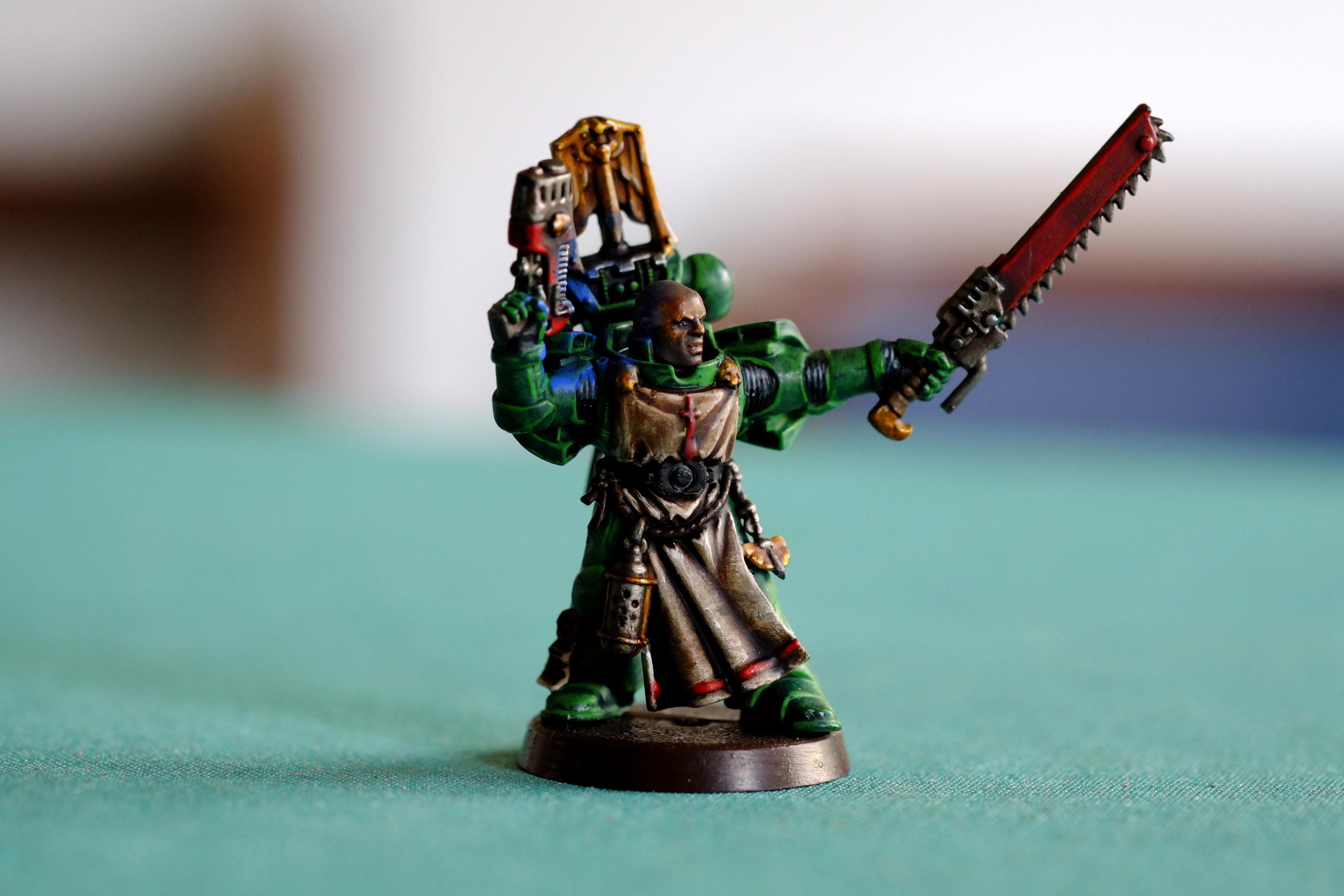 Dark Angels, Dark Vengeance, Object Source Lighting, Power Armour, Space Marines