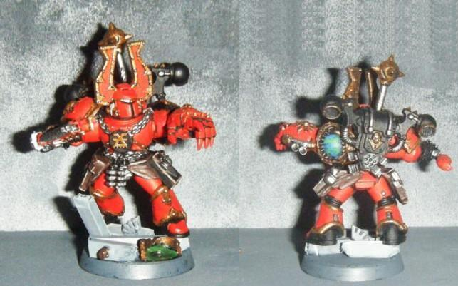 Champion, Chaos, Gantelet énergétique, Khorne, Power Fist, Smc, Space Marines, World Eaters