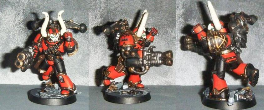Chaos, Flame-thrower, Grenade, Khorne, Lance-flames, Smc, Space Marines, World Eaters