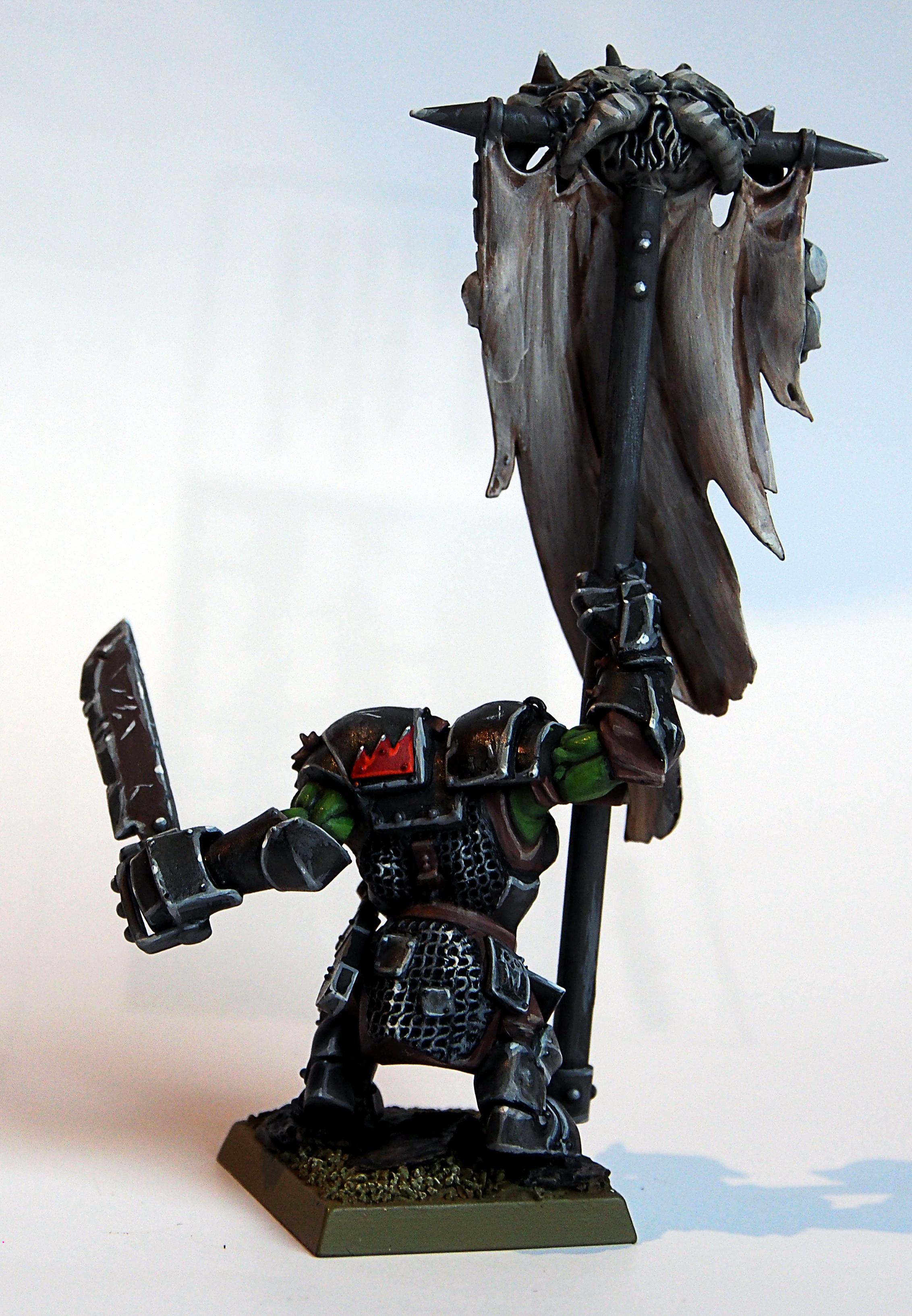 Orks, Orc Banner rear