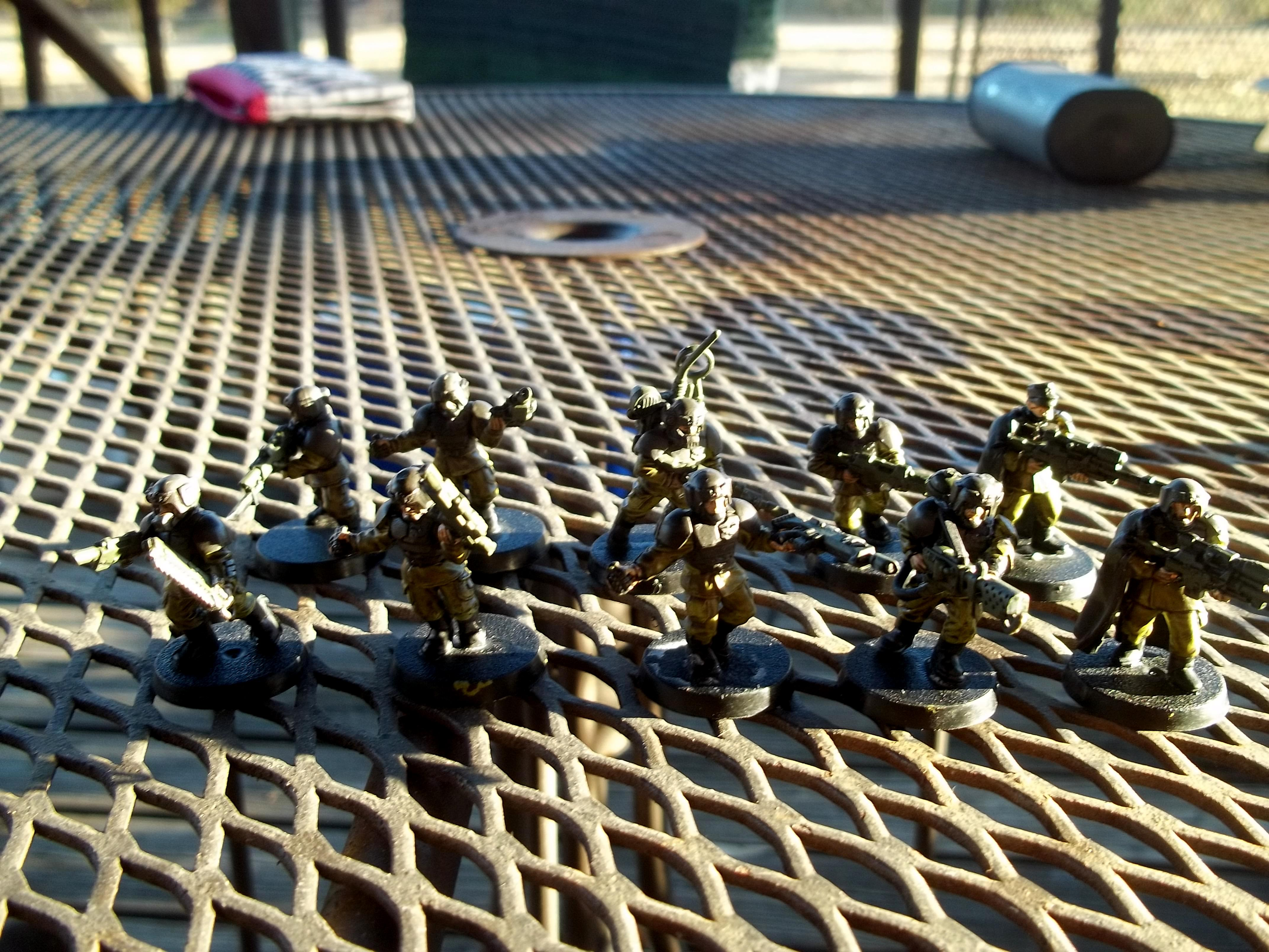 Imperial Guard, Snipers, Squad, Veteran