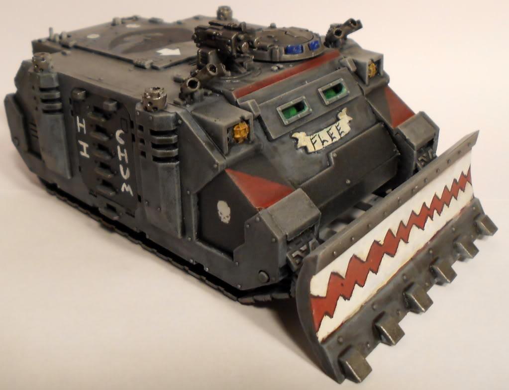 Rhino, Space Marines, Space Sharks, Tank