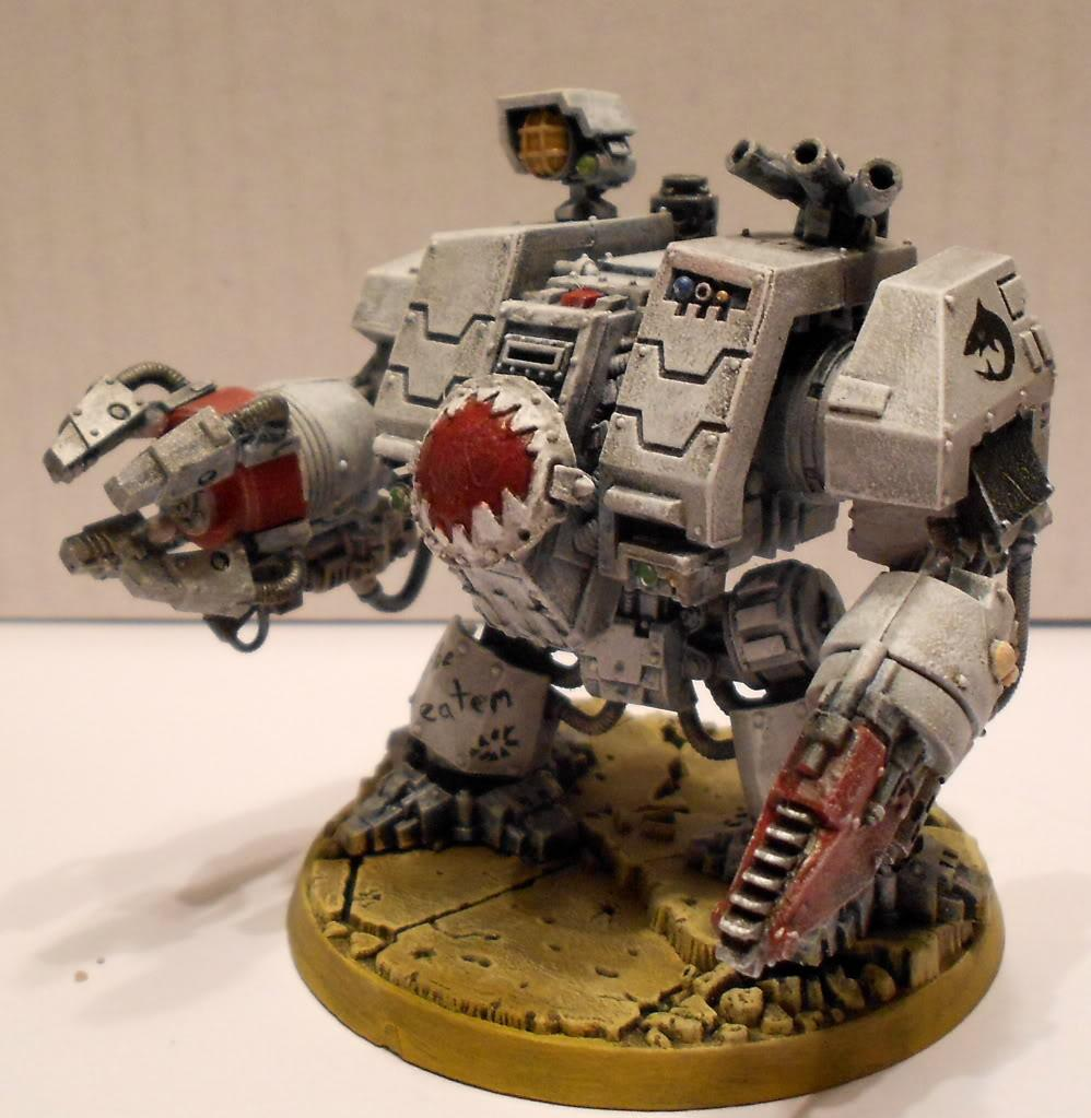 Dreadnought, Ironclad, Space Marines, Space Sharks