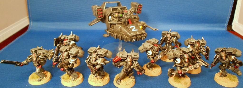 Assault Marines, Land Speeder, Space Marines, Space Sharks