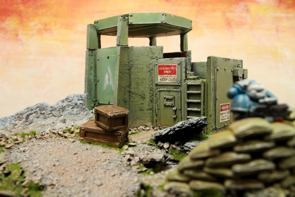 Imperial Guard, Scratch Build, Terrain
