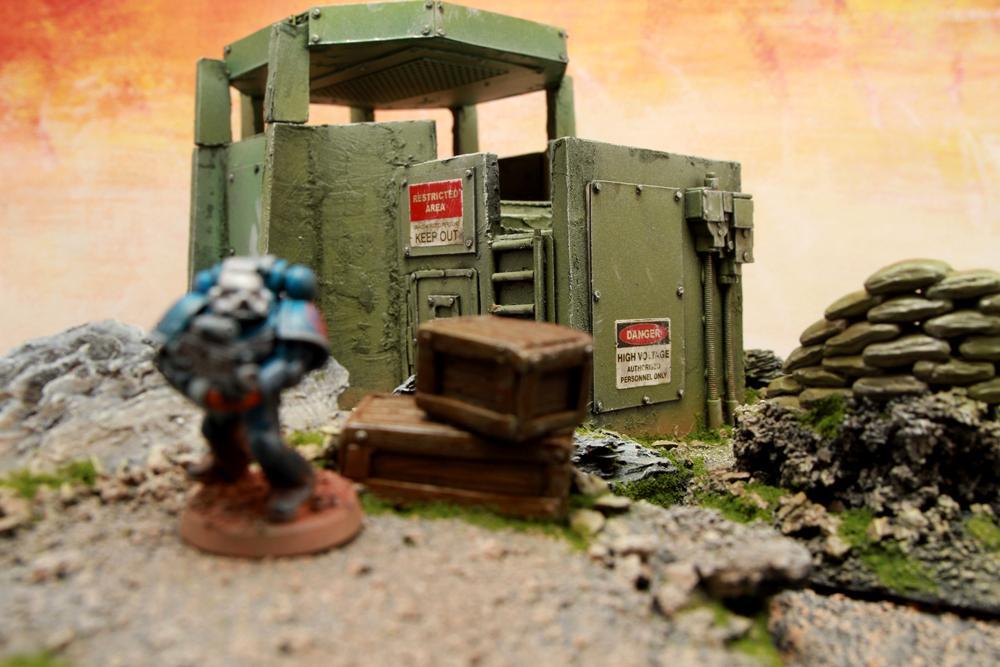 Bunker, Imperial Guard, Scratch Build, Terrain