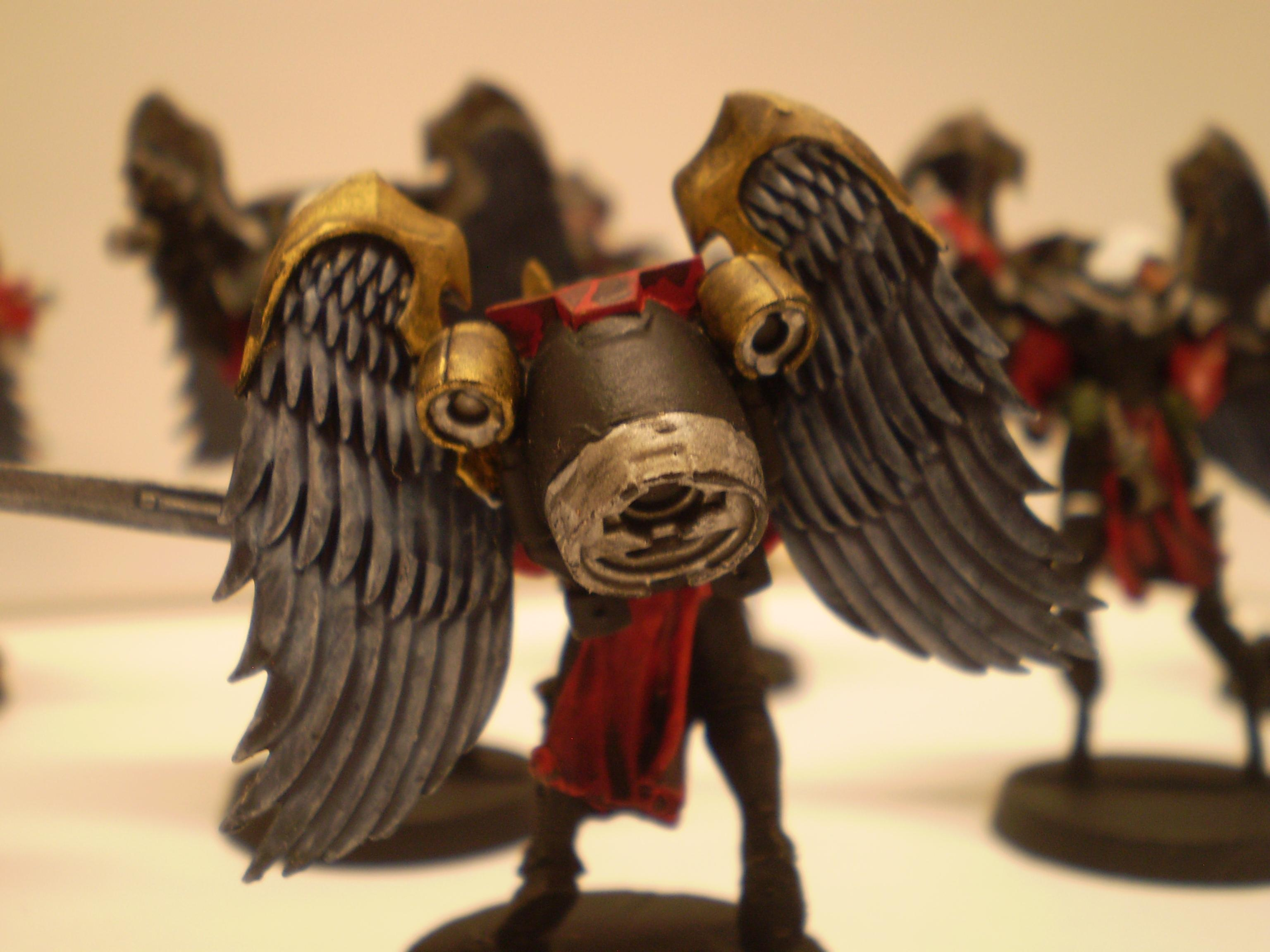 Conversion, Jump Pack, Seraphim, Sisters Of Battle