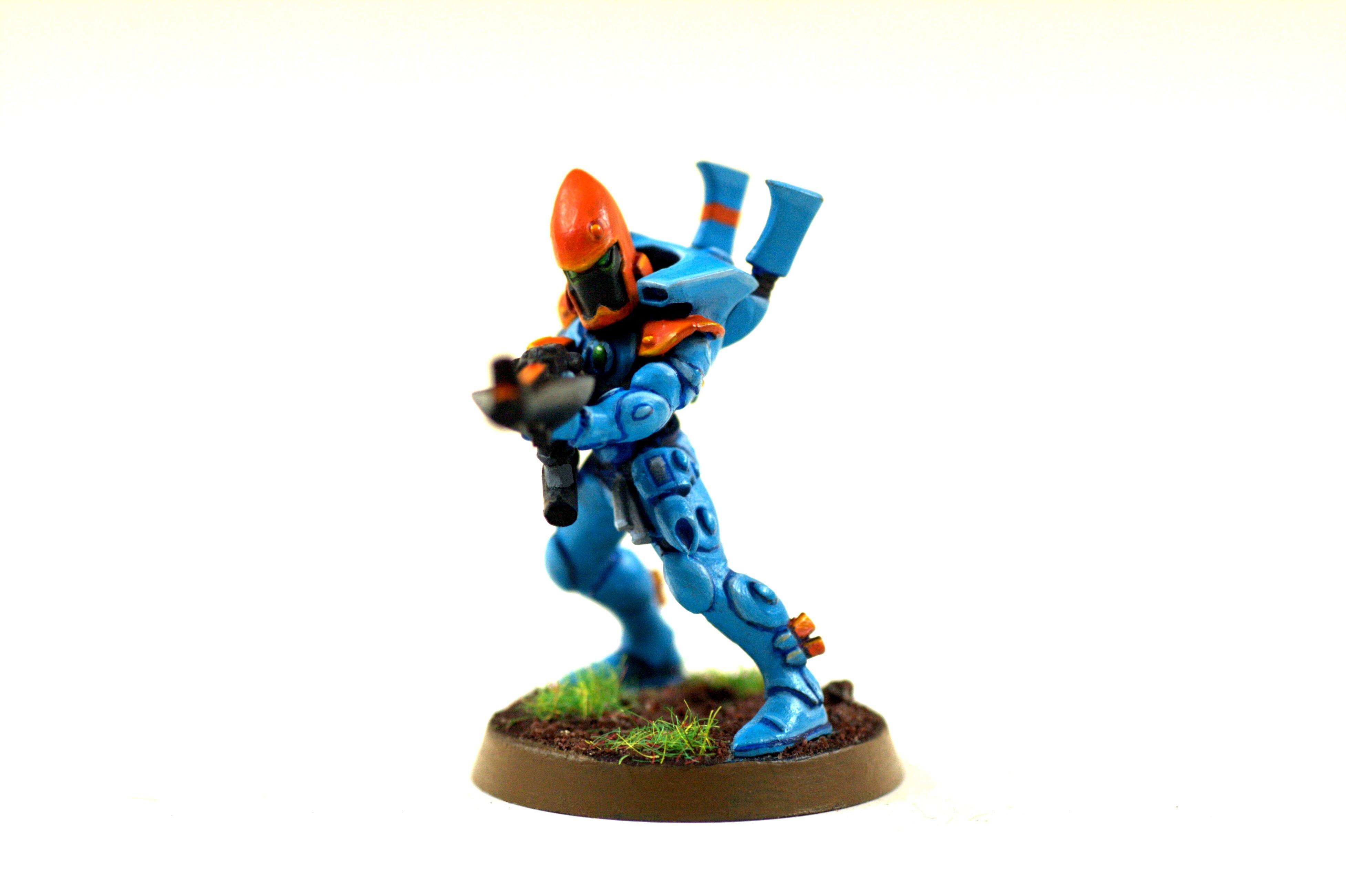 Blue, Craftworld, Eldar, Gem, Guardians, Orange