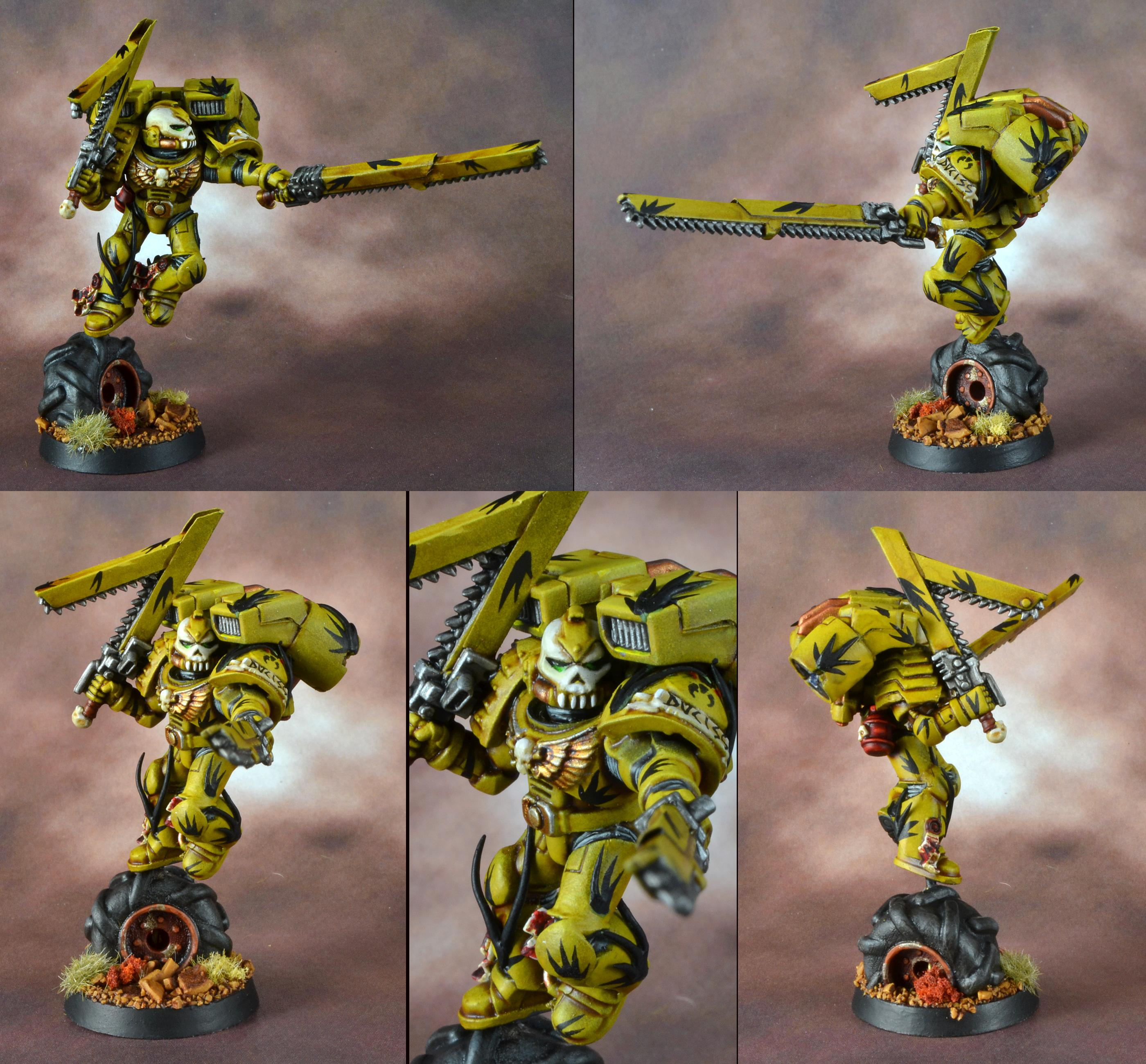 Gms, Mantis Warrior, Space Marines, Tranquility Camo, Vanguard, Warhammer 40,000
