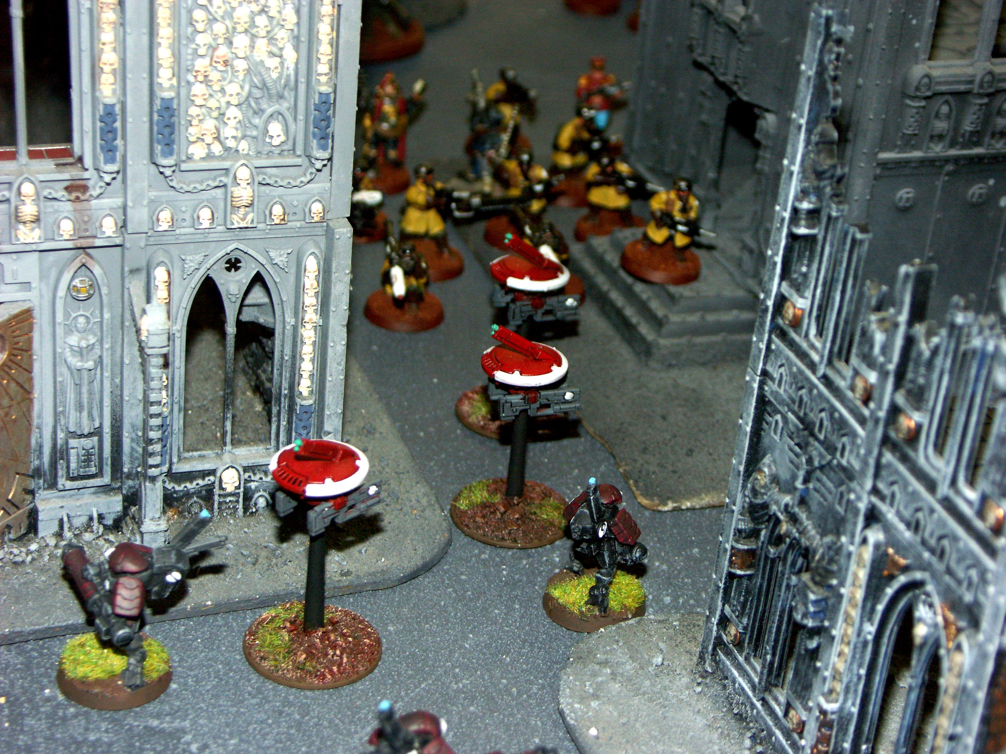 Battle Report, Campaign, Cities Of Death, Eldar, Guard, Imperial, Tau
