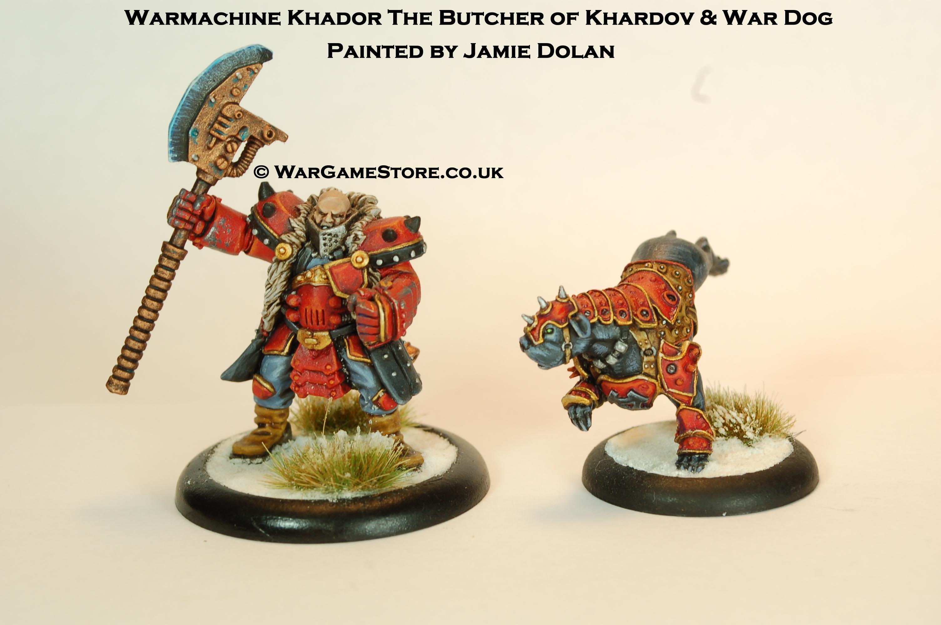 Butcher, Khardov, War Dog, Wargamestore, Warmachine