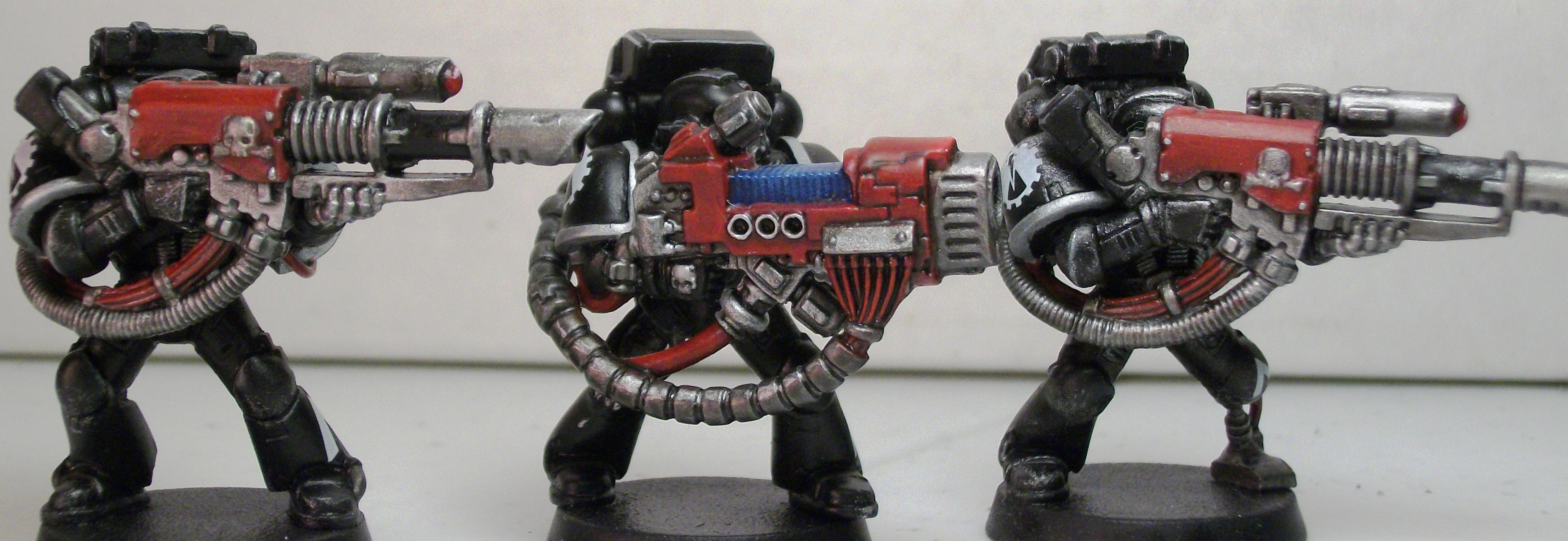 Cannon, Devastator, Devastators, Iron Hands, Lascannon, Plasma, Space Marines