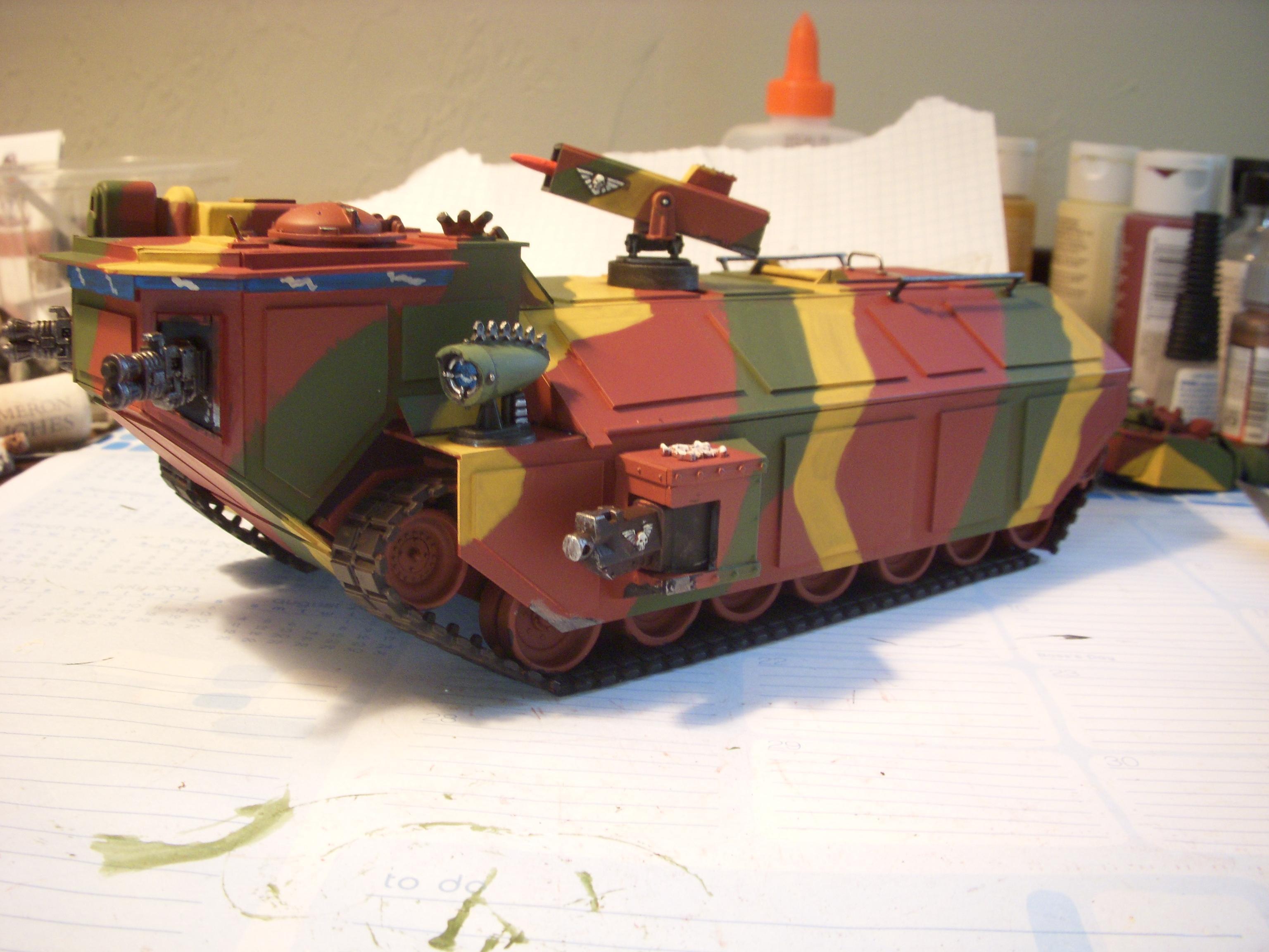 Crassus, Crassus Armored Assault Transport, Imperial Guard, Scratch Build, Work In Progress