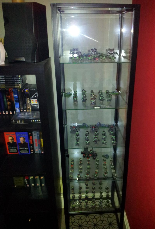 Detolf Glass Door Cabinet