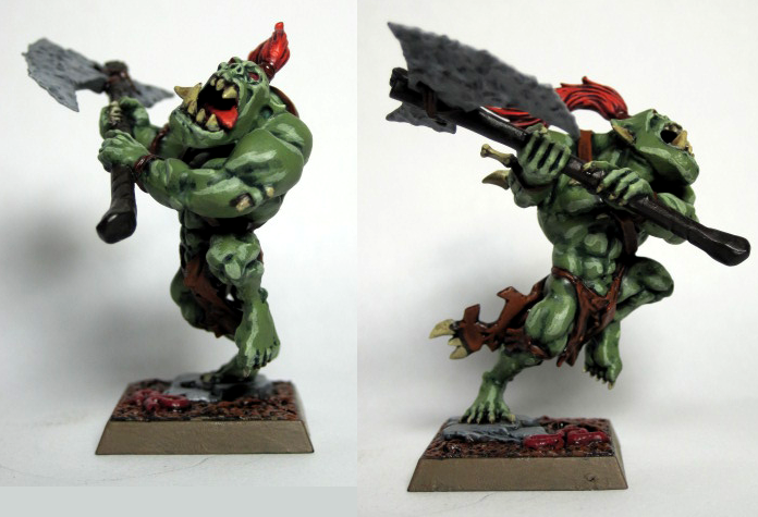 Orc Warboss, Orcs & Goblins, Savage Orcs