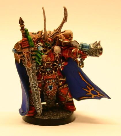 Chaos, Chaos Lord, Plasma Pistol, Power Sword