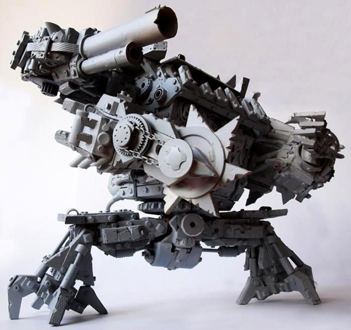 Firstone, Gargant, Orks, Scratch Build, Stompa, Titan, Waaaghhh