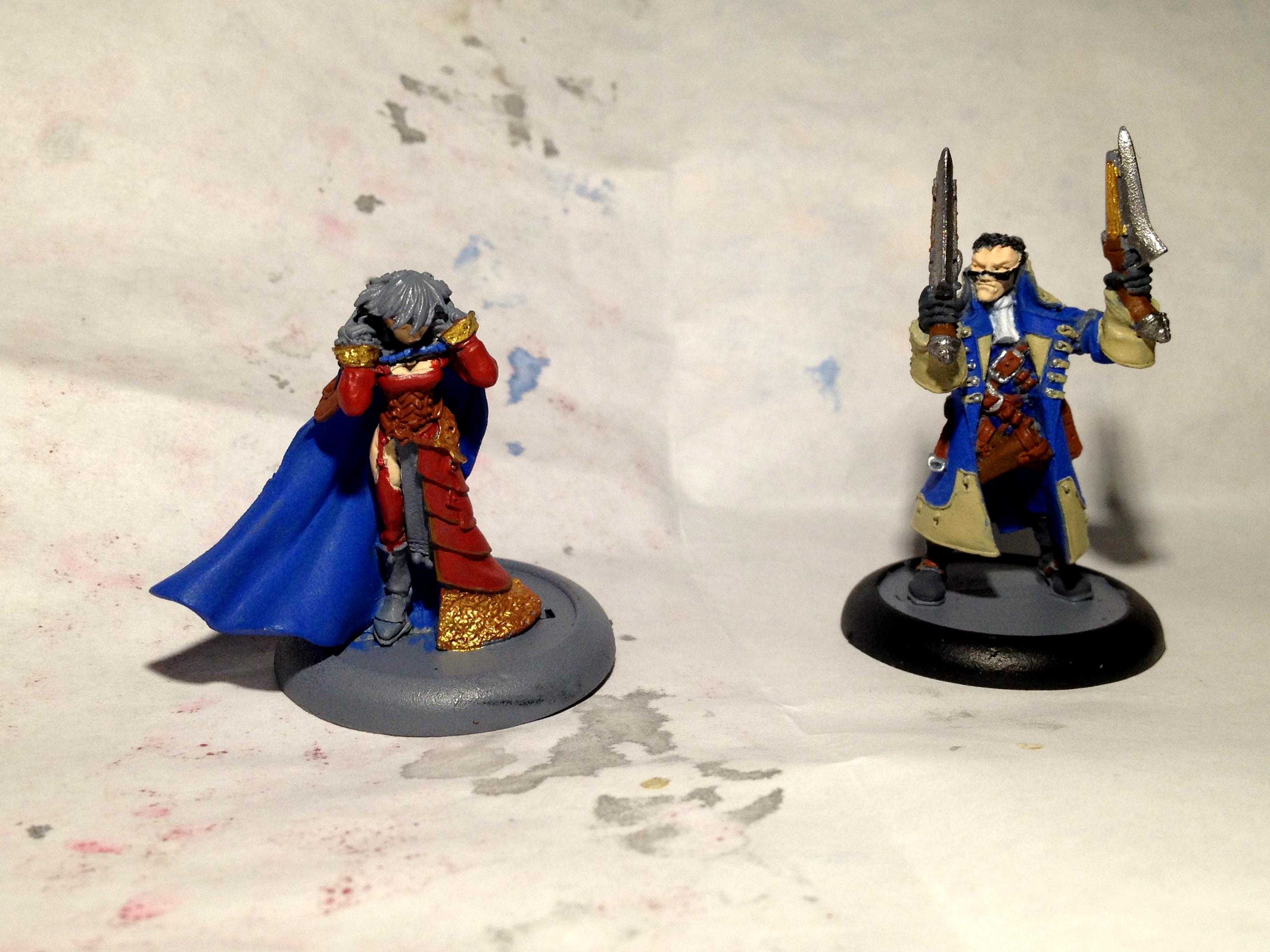 Lady Aiyanna And Master Holt, Warmachine