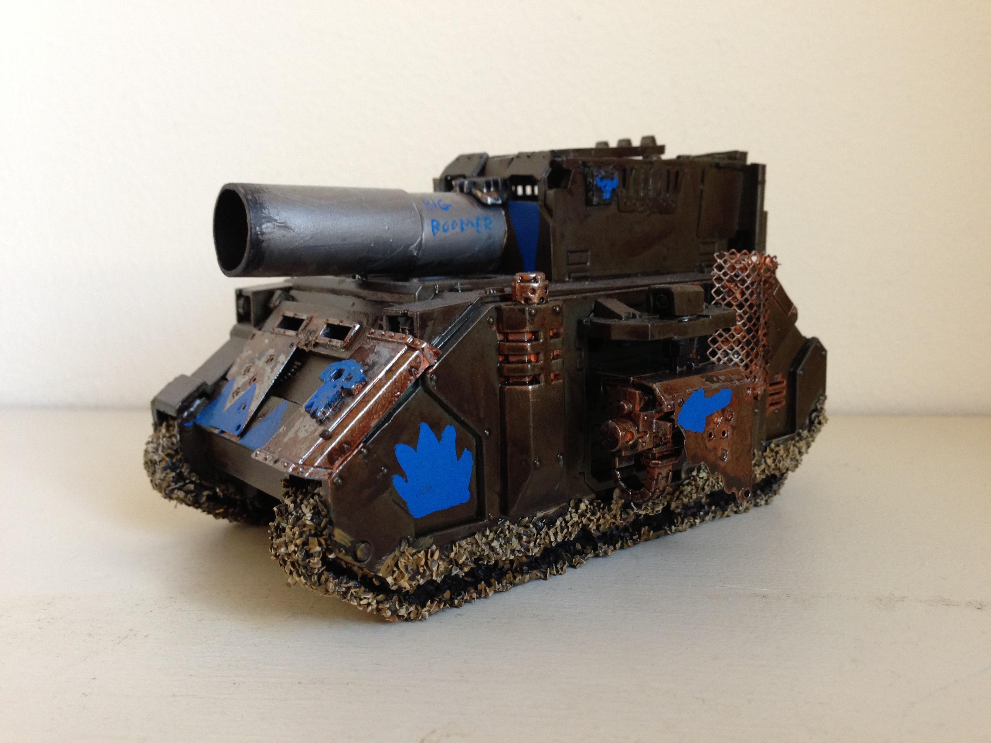 Conversion, Custom, Looted, Orks, Tank