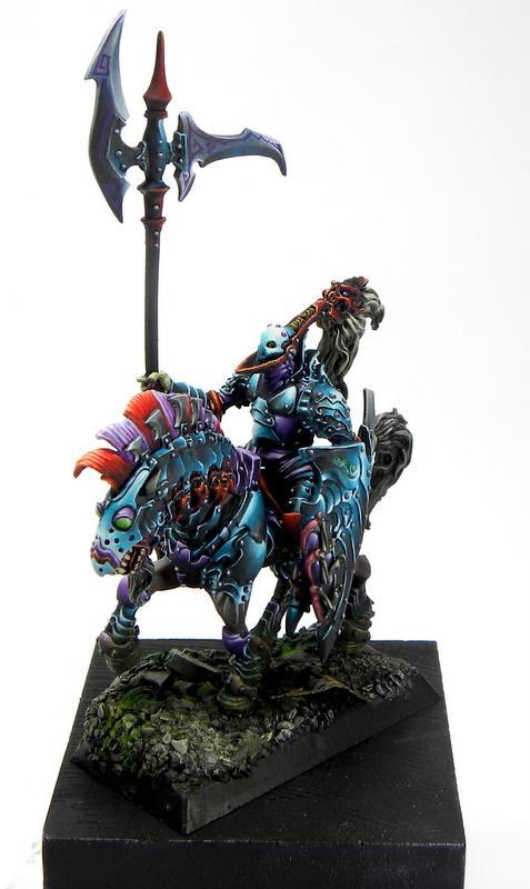 Airbrush, Chaos Knight, Highlights, Warhammer Fantasy, Warriors Of Chaos