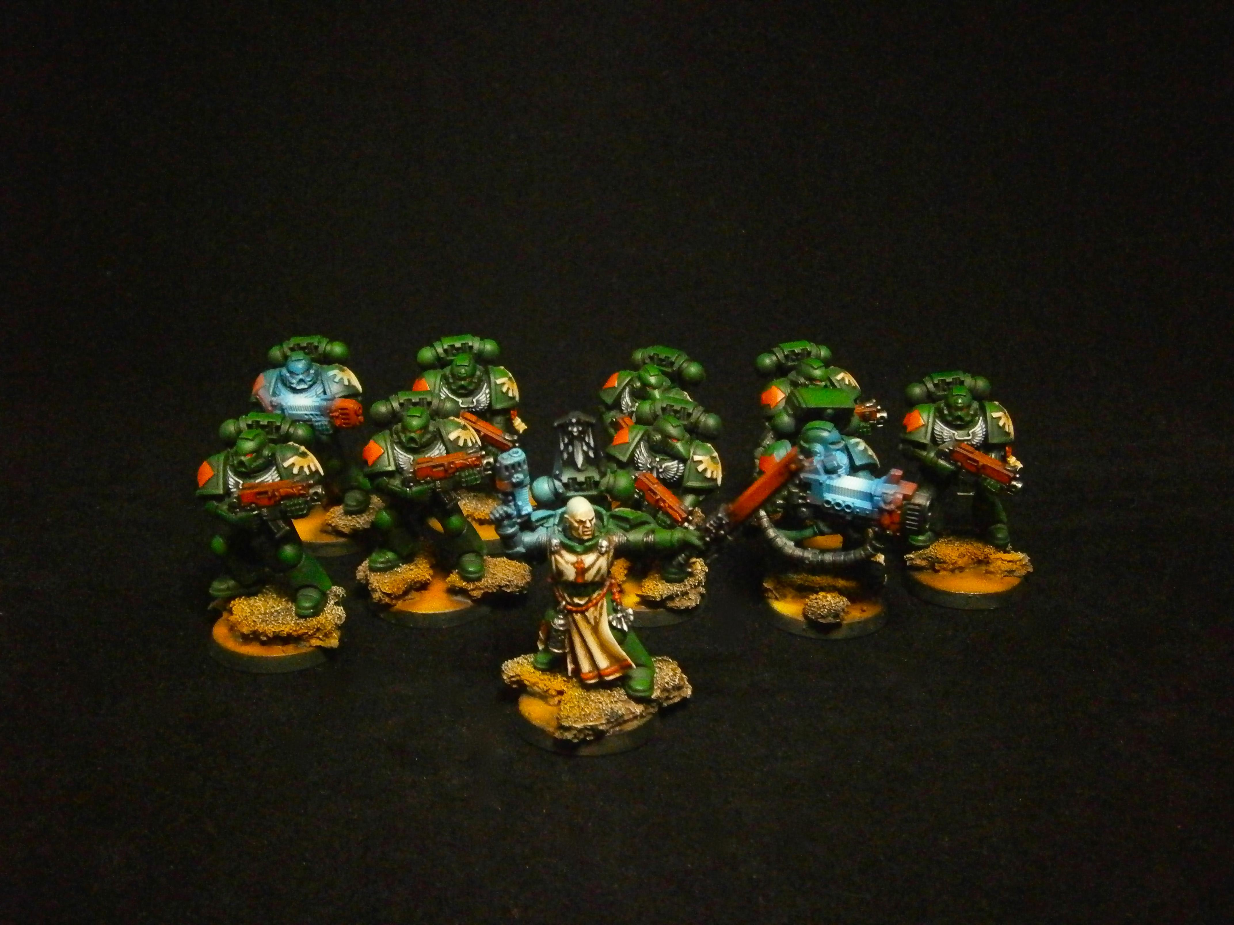 Dark Vengeance, Space Marines, Tactical Squad