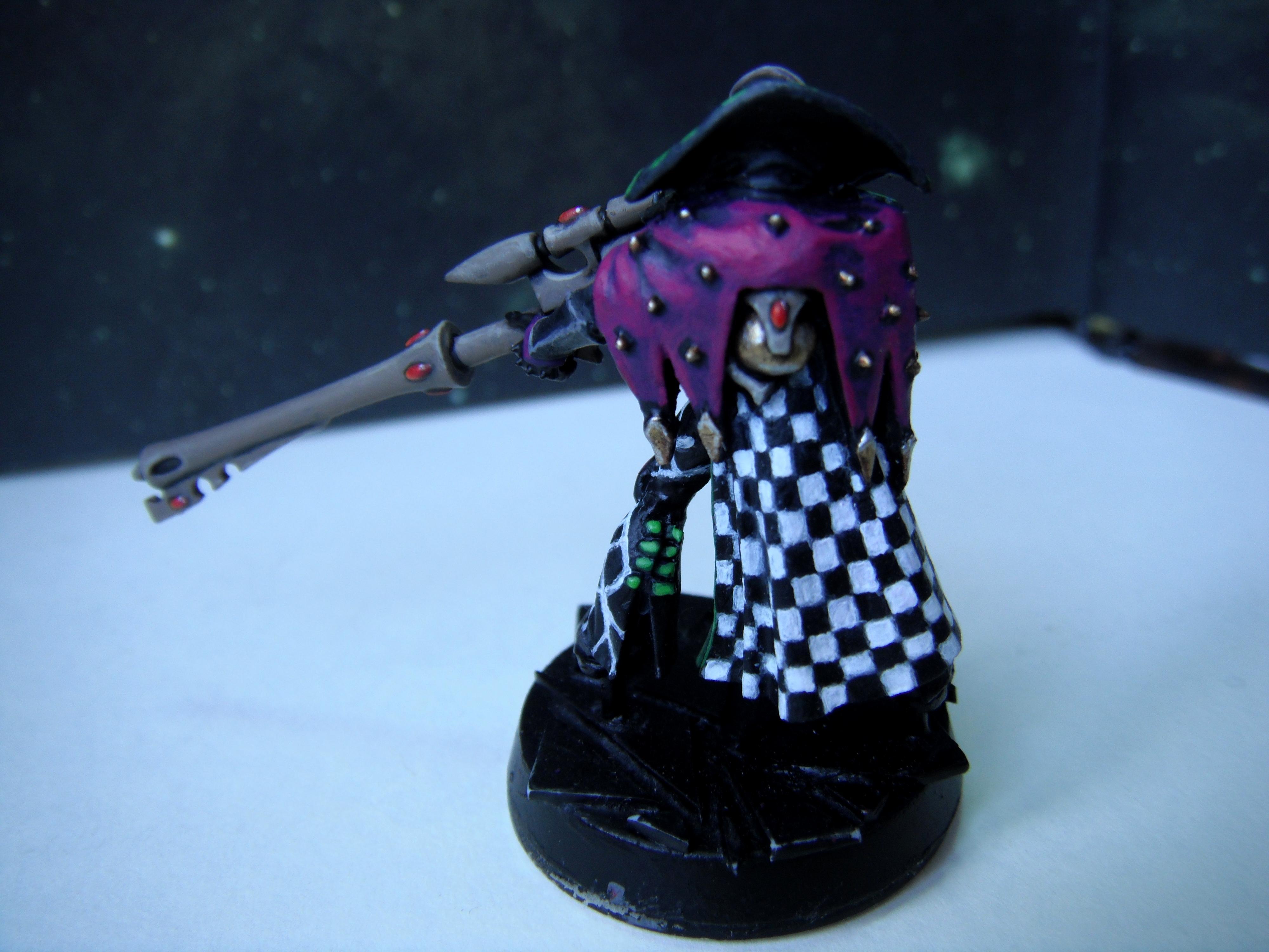 Harlequin Death Jester back