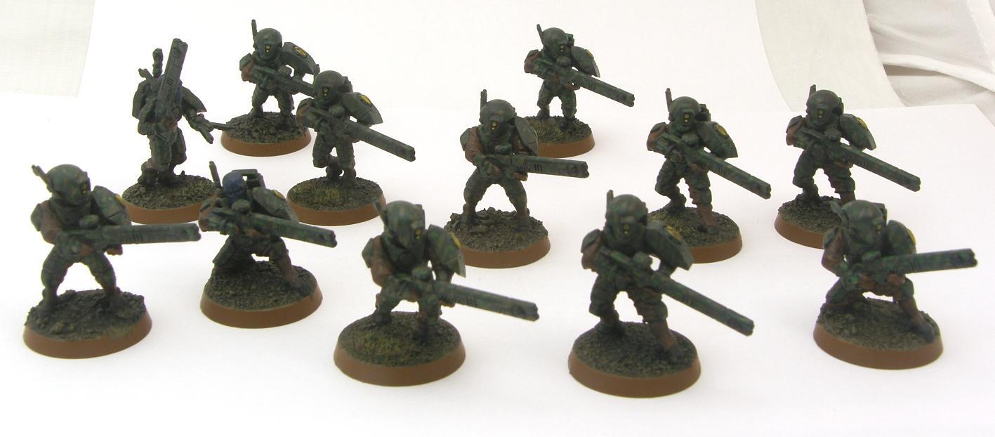 Tau Empire, Tau Fire Warrior squad 2