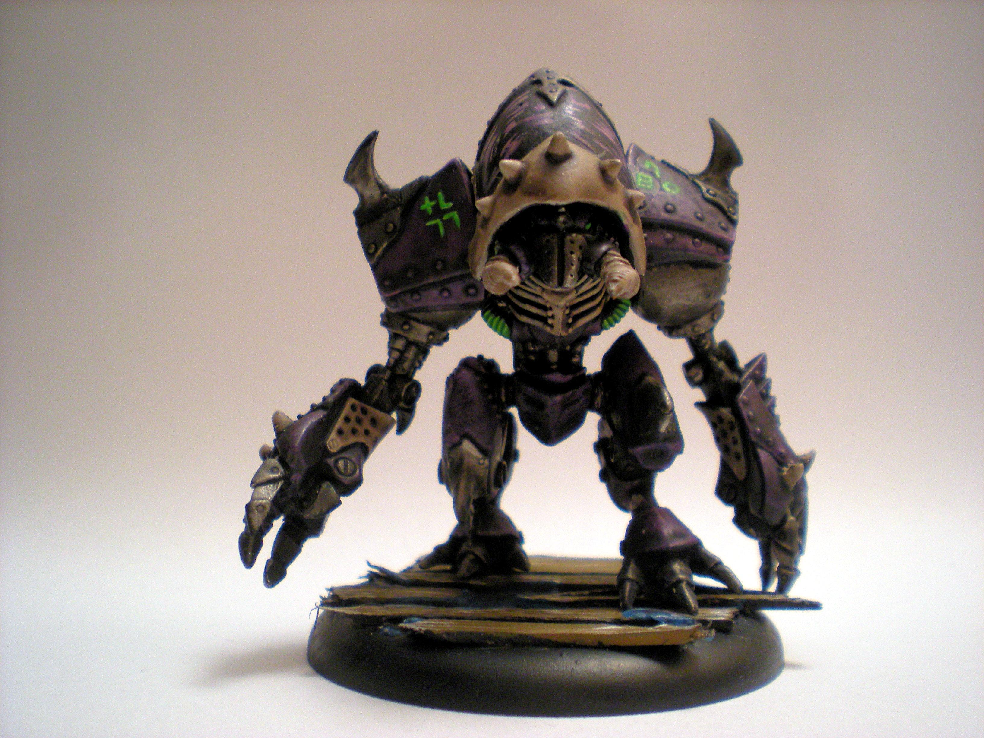 Bone, Cryx, Iron Kingdoms, Pirates, Purple, Slayer, Warjack, Warmachine