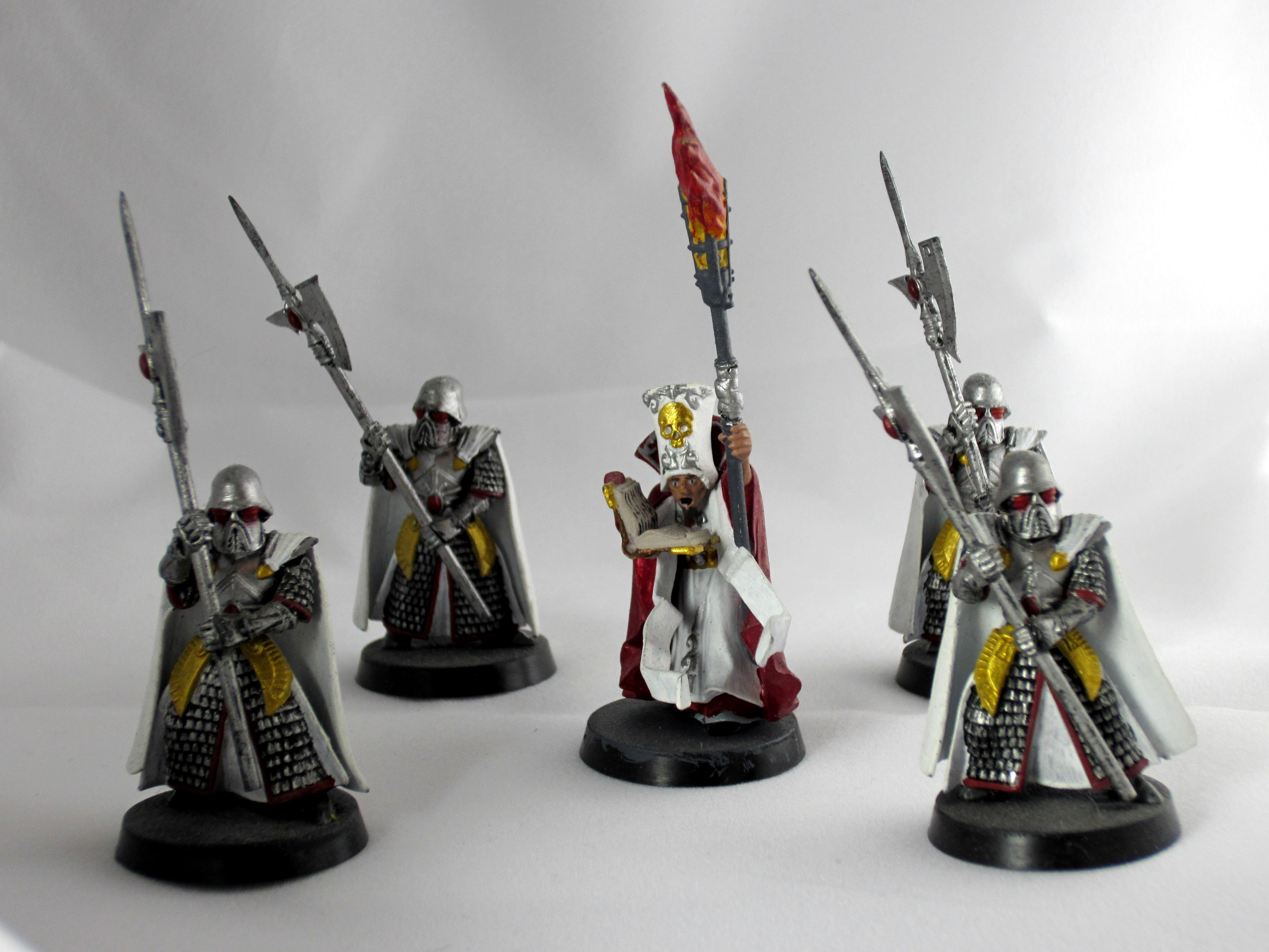 Cardinal, Empire, High Elves, Priest, Sisters Of Battle, Witch Hunters, Wizard