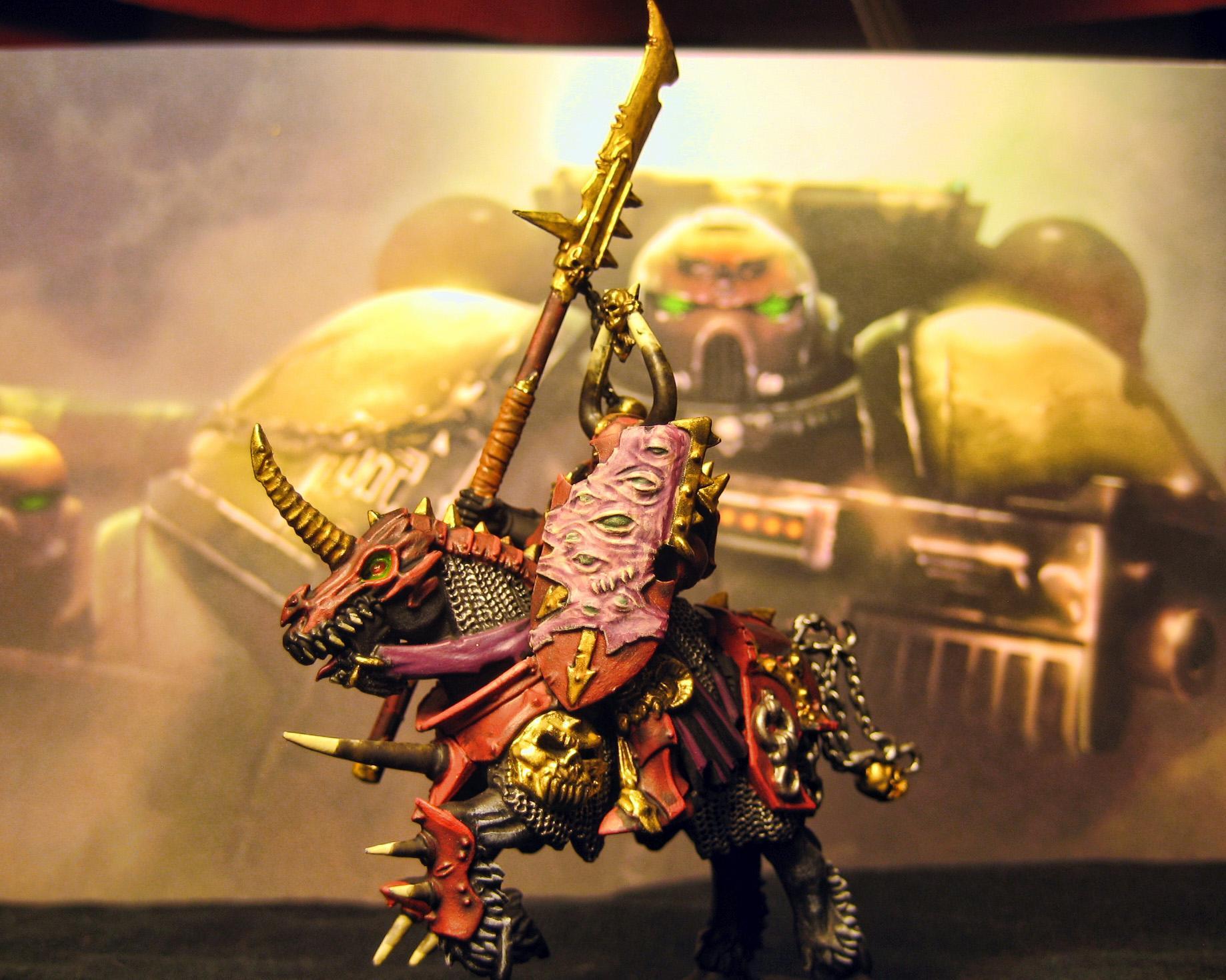 Cavalry, Chaos, Traiter Marine, Warhammer 40,000