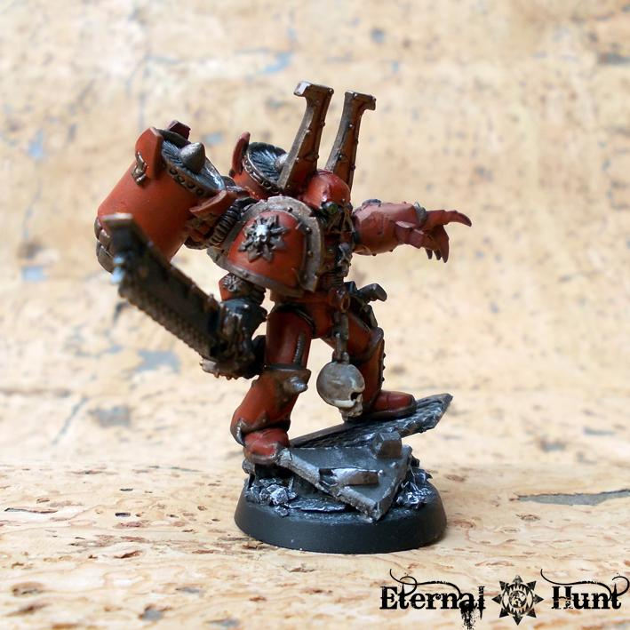 Chaos  Chaos Space Marines  Conversion  Khorne  Warhammer