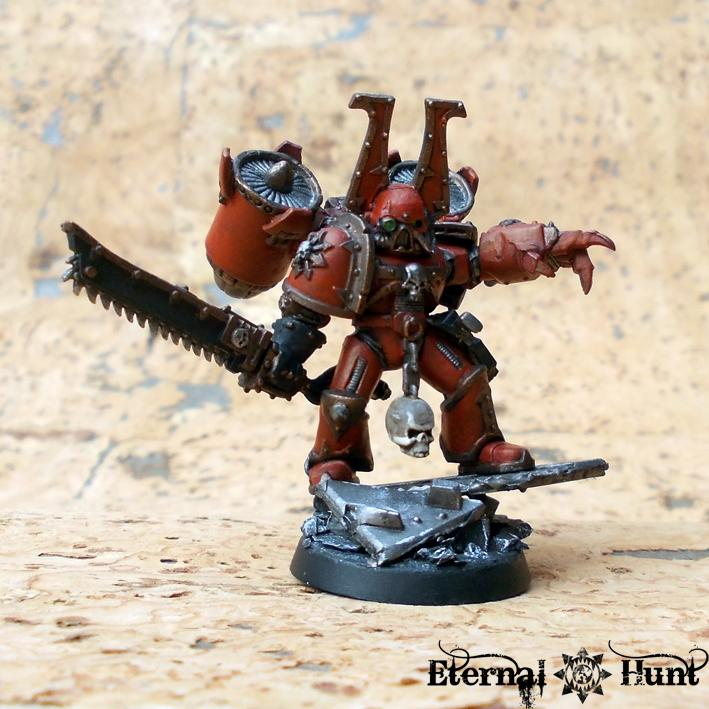 Chaos, Chaos Space Marines, Conversion, Khorne, Warhammer 40,000, World Eaters