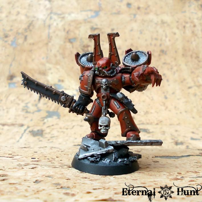 Chaos, Chaos Space Marines, Conversion, Jump Infantry, Khorne, Raptors, Warhammer 40,000, World Eaters