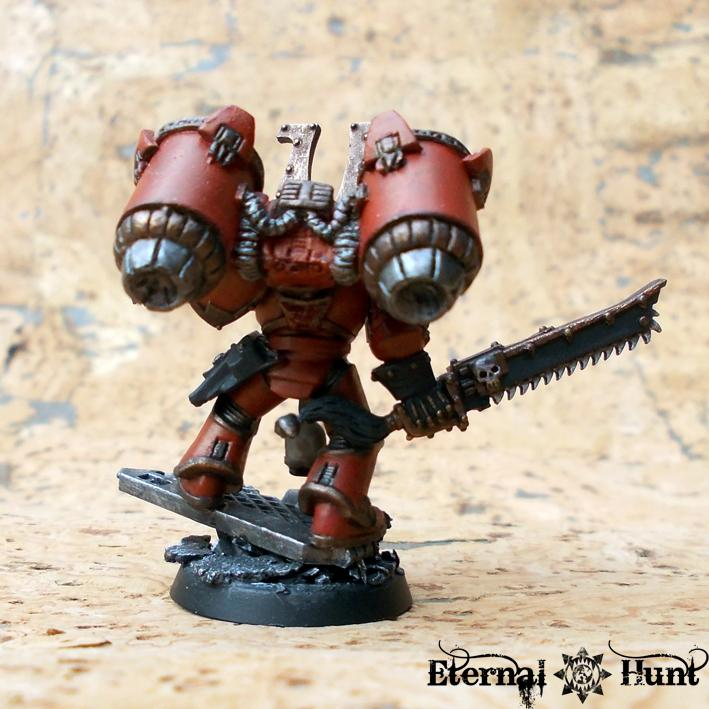 Chaos  Chaos Space Marines  Conversion  Jump Infantry
