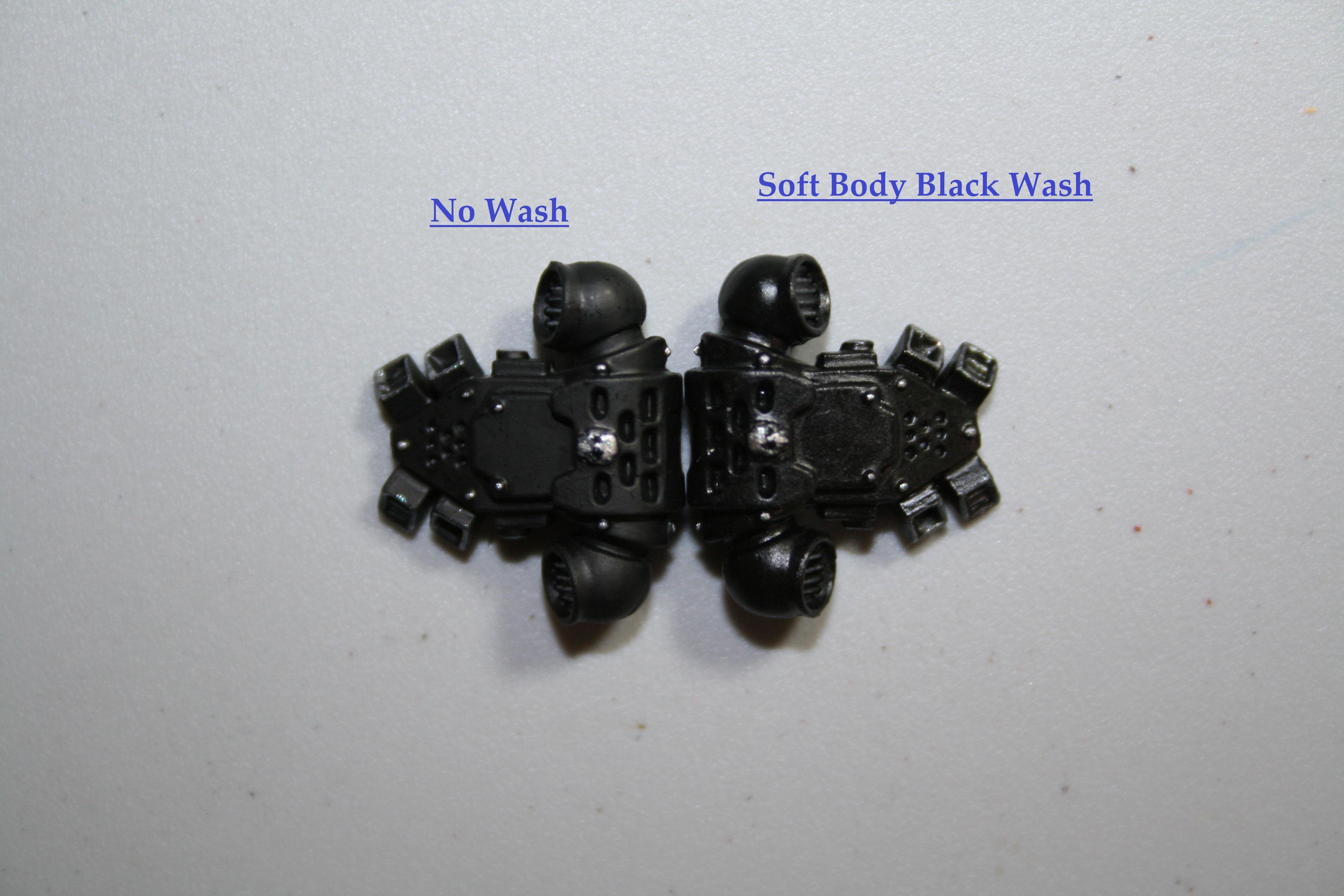 Soft Black Wash Front